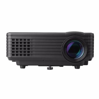 Harga Unic RD-805 Mini LED 800 Lumens Projector (Black)