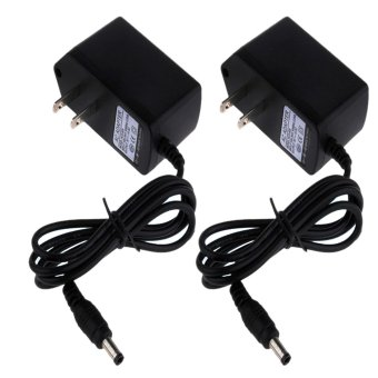 Harga AC Power Adapter DC 5V 1A Power Supply Set of 2