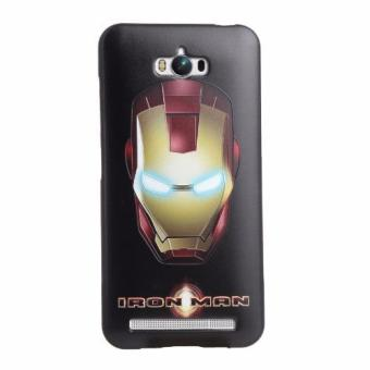 For Asus Zenfone Max ZC550KL TPU 3D Painting Cover Case(Iron Man) - intl Price Philippines