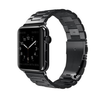 Apple Watch Band Stainless Steel Metal Watch Strap Replacement Bracelet for Apple iWatch 38mm - intl Price Philippines