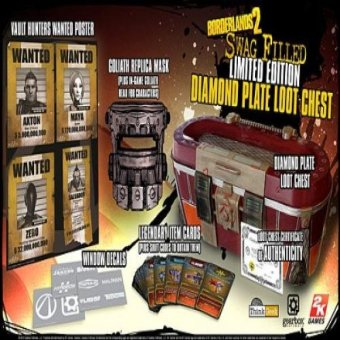 Borderlands 2 Swag Filled Diamond Plate Loot Chest Limited Edition Price Philippines