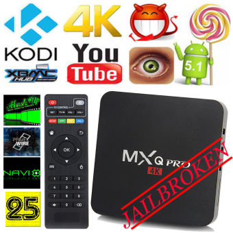 Harga MXQ PRO Amlogic S905 4K HD 8GB Quad Core Android 5.1 TV Box XBMC KODI AU