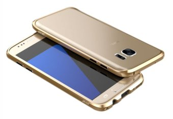 Dcase Aluminum Alloy Bumper Case for Samsung Galaxy S7 (Gold) Price Philippines