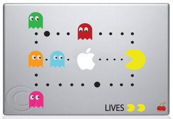 Leegoal Colorful Pac Man Scene Decal Skin Sticker for Apple Macbook Mac - intl Price Philippines