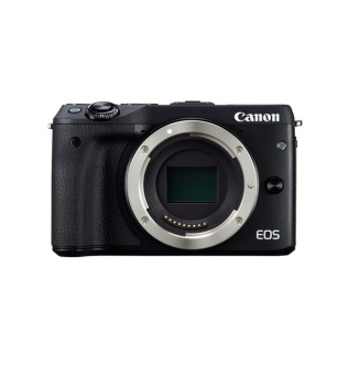 Canon EOSM3BK-BODYEVFK 24.2MP [Body Only]