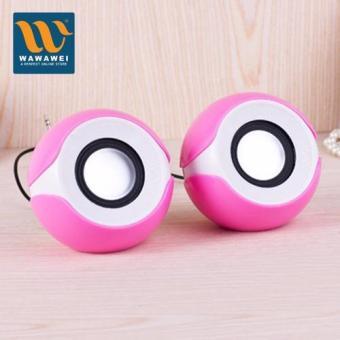 Wawawei Multimedia Speaker System G102 (pink)