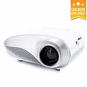 Harga D&D 802 Mini HD LED Portable Projector