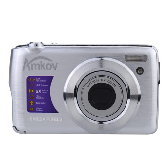 "AMKOV OE3 HD Digital Camera Video Camcorder 18MP 2.7"" TFT LCDScreen 6X Optical Zoom - Intl Price Philippines"