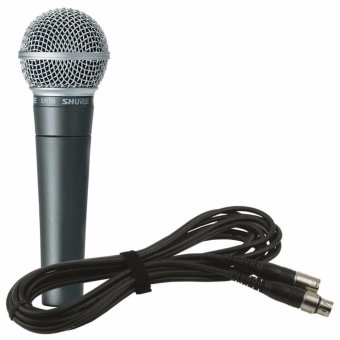 Shure SM58 Legendary Vocal Microphone (Black) Price Philippines