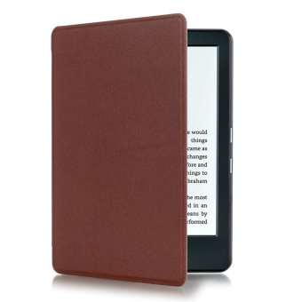 Harga Yika Thin PU Leather Cover for Amazon Kindle 8th 2016 (Brown)