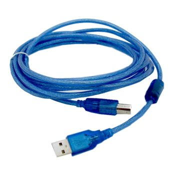 Harga 1.5m USB 2.0 to Printer Cable (Blue)