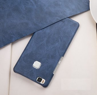 Harga Mofi Protective Case Hard Back Cover For Huawei P9 Lite (Dark Blue) - intl
