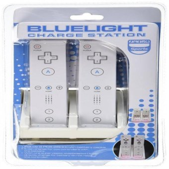Gen Premium Dual Charging Station With Led Light Plus 2 High Capacity Rechargeable Replacement Battery And Usb Cable For Nintendo Wii Remote Control Price Philippines