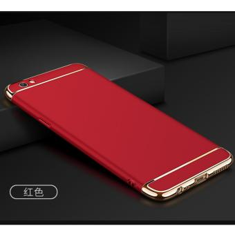 Harga LongTeng 3 in 1 PC Protective Back Cover Case For OPPO F1s / OPPO A59 / OPPO A59s (Red) - intl