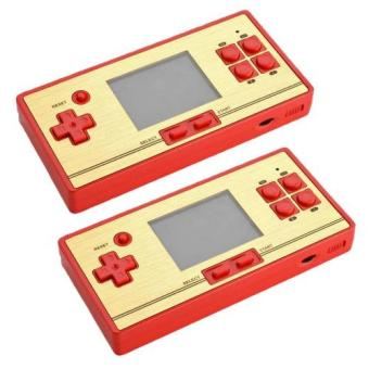 2 PCS FC-POCKET Classic 8 Bit Game Portable Console Family Computer 600 Games Plus 128 Games Extra Cartridge Price Philippines