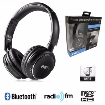 Nia Q1 Bluetooth Headsets with Micro SD and AUX Slot/FM Radio/Call Function Price Philippines