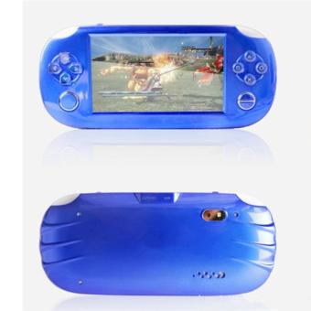 8GB Game Console Touch Screen 4.3 Inch MP4 MP5 Players Handheld Game Player Free Games/Flashlight/Camera/HD Video (Blue) - intl Price Philippines