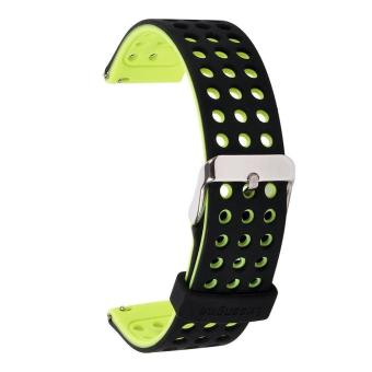 Silicone Watchbands Wearable Replacement Smart Watch Bracelet Band Strap for Samsung Gear S3 Frontier / S3 Classic Wristband - intl Price Philippines