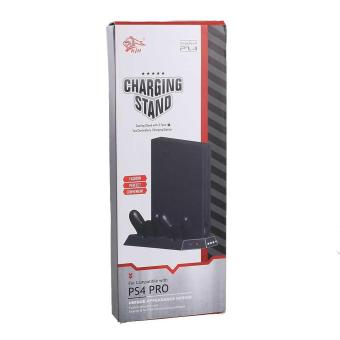 Stand Holder Cooling Charging Station Charger For PS4 Pro Ultrathin Console - intl Price Philippines