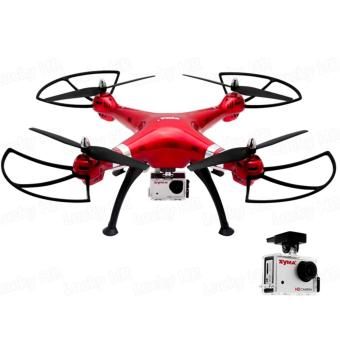 Syma X8HG Headless Mode 2.4G 4CH 6Axis Remote Control Quadcopter (Red) Price Philippines