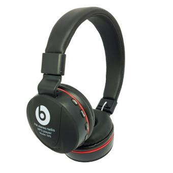 Harga Beats by Dr. Dre MS-771E Wireless FM/MP3 Headphone (black)