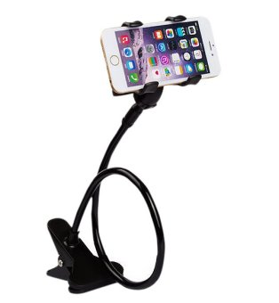 Remax RM-C22 Flexible Long Arm Lazy Phone Clamp Holder Mount Stand (Black) Price Philippines