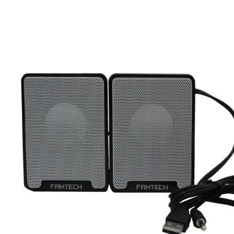 Harga FANTECH GS733 PORTABLE MOBILE GAMING AND MUSIC SPEAKER (WHITE)