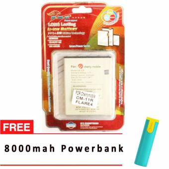 MSM HK Battery for Cherry Mobile CM-11R (FLARE 4) WITH FREE 8,000 mah powerbank Price Philippines
