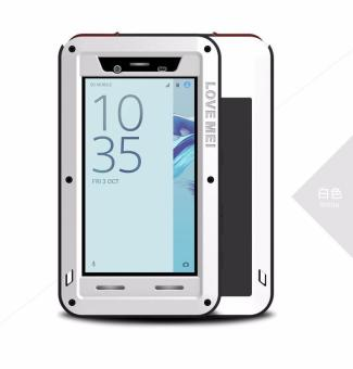Harga LOVE MEI Powerful Case for Sony Xperia Z5 Premium Compact Shockproof Dropproof Dustproof Cover (White) - intl