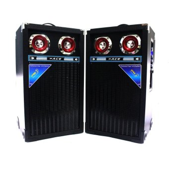 "Ace H803 8"" Highpower Professional Sub-woofer Actice Stage Speaker set with Amplifier Price Philippines"