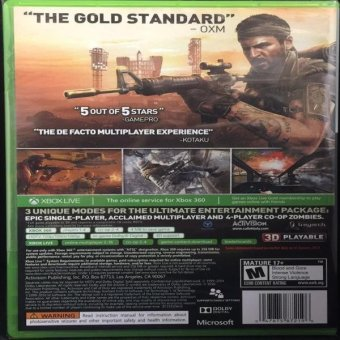 Call Of Duty: Black Ops Lto Edition Xbox 360 Price Philippines