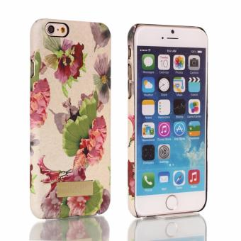 Ted Baker Flower design Plastic Hard case for Apple iphone6plus/6s plus(cream) Price Philippines