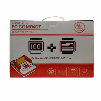 Harga FC COMPACT Classic Family Computer with Built in 100 Games and 100 Games External Game Cartridge