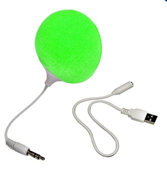 Audio Jack Speaker with Cable Speaker (Green)