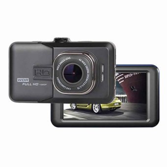 Harga HD Dashcam Front and Back Camera (Black)