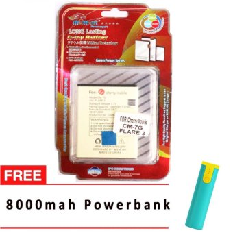 MSM HK Battery for Cherry Mobile CM-7G FLARE 3 WITH FREE 8,000 MAH POWERBANK Price Philippines