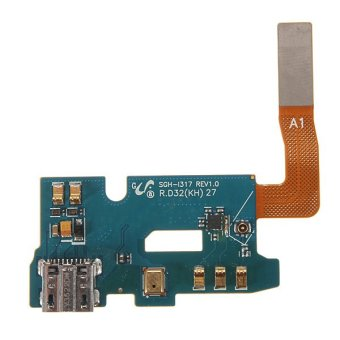 USB Charging Port Flex Cable Mic for AT&T Samsung Galaxy Note 2 II SGH-i317 Price Philippines