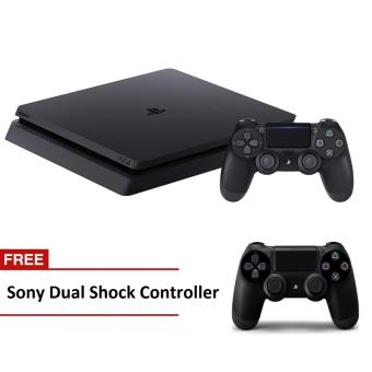 Sony PlayStation 4 Slim 500GB CUH-2016A (Jet Black) with Free Extra Sony Dual Shock Controller Price Philippines
