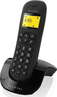 Alcatel C250 Handsfree Cordless Telephone with Caller ID (Black) Price Philippines