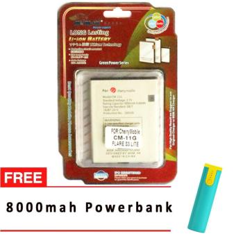 MSM HK Battery for Cherry Mobile CM-11G FLARE S3 LITE WITH 8,000 MAH POWERBANK Price Philippines