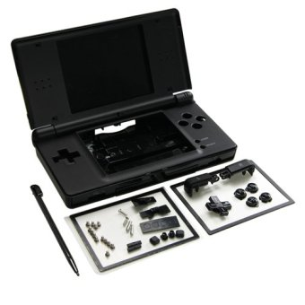 Harga Full Repair Parts Replacement Housing Case Kit for Nintendo DS Lite NDSL (Black)