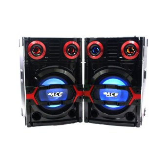 "Ace H999 10"" Highpower Professional Sub-woofer Actice Stage Speaker set with Amplifier Price Philippines"