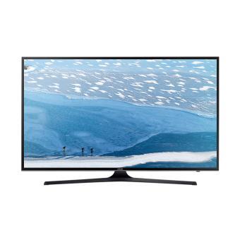 "Samsung 40"" UHD 4K Flat Smart TV UA-40KU6000 Series 6 Black"""
