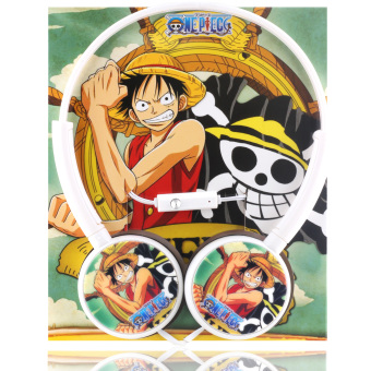 Anime One Piece Monkey D. Luffy Stereo Headphones Price Philippines