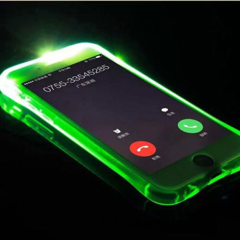 2016 Best Quality TTLIFE Colorful Flashing phone calls case iPhone6plus / 6s plus 5.5 inch emitting (green) Price Philippines