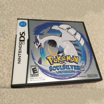 Harga 3DS Lite 2DS/3DS/DSI/DS For Pokemon 2007 SoulSilver Version Game Card Gifts