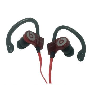 Harga Beats by Dr. Dre Power Beats Monster Stereo Earphones MD-A109 (Red)