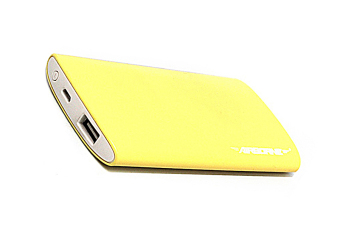 Harga Airborne Tech-5001 5300mAh Slim Powebank (Yellow)