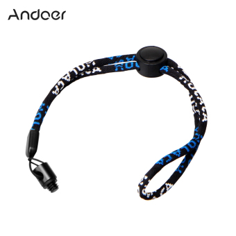 Andoer Camera Neck Wrist Strap with 1/4 Screw Nut Kit for Ricoh Theta S & M15 for LG 360 Cam for Samsung Gear 360 Camera Camcorder - Intl Price Philippines