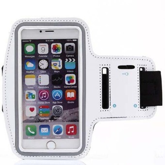 Universal Sport Arm Bag Band For Muti Phone White - intl Price Philippines